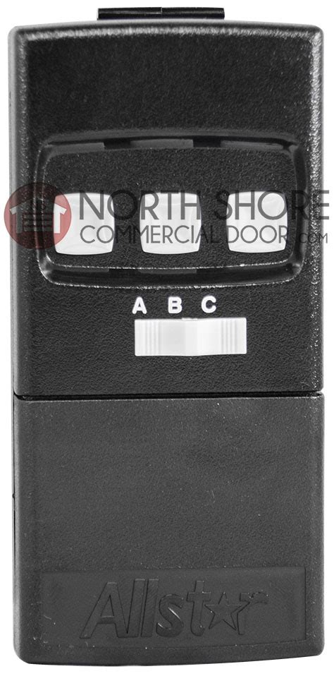 Allstar Garage Door Opener Manual Allstar 3 Button Gate Or Garage Door Remote Transmitter 8833 Tc