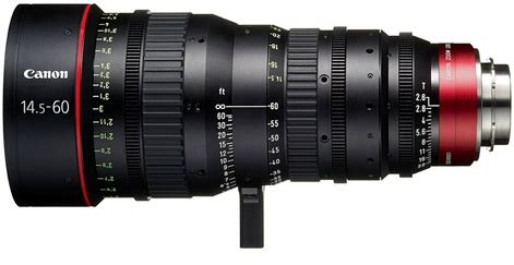 canon cn e 14.5 60mm t2.6 ls cinema zoom lens with pl