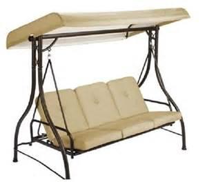 Glider Canopy by Outdoor Triple 3 Seater Swing Hammock Glider Canopy Ebay