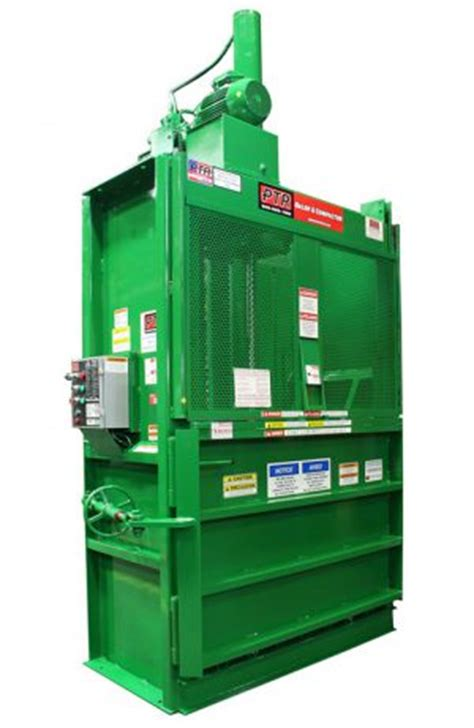 ptr 2300hd vertical downstroke hydraulic recycling baler