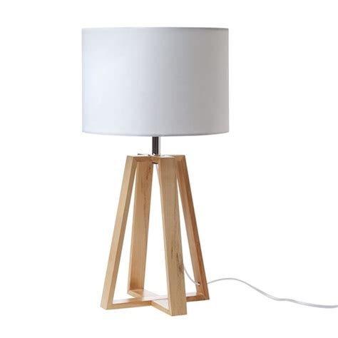 Nautical Home Decor by Wooden Table Lamp Kmart