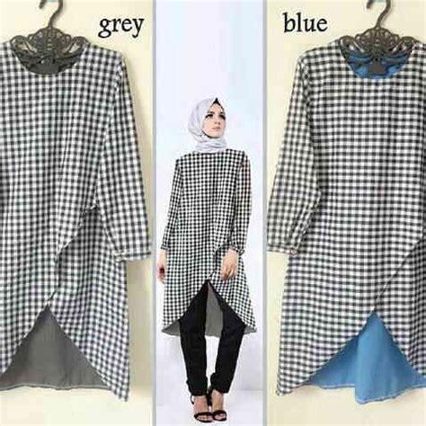 Tunik Atasan Blouse Wanita Baju Muslim Ny Tuniq baju atasan zaneta tunik model terbaru murah