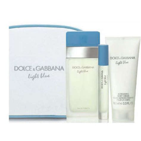 dolce gabbana light blue gift set dolce and gabbana perfume light blue gift set 6am mall com
