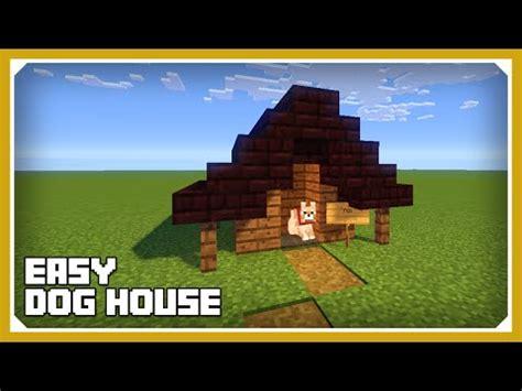 dog house tutorial minecraft tutorial dog house tu35 dog kennel survival