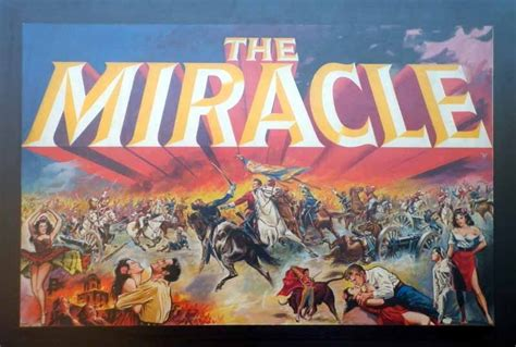 The Miracle 1959 Tom Chantrell Posters The Miracle Chantrell Artwork 1959 1959