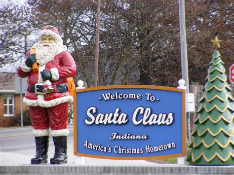 land of lights santa claus indiana top us towns with incredible christmas celebrations