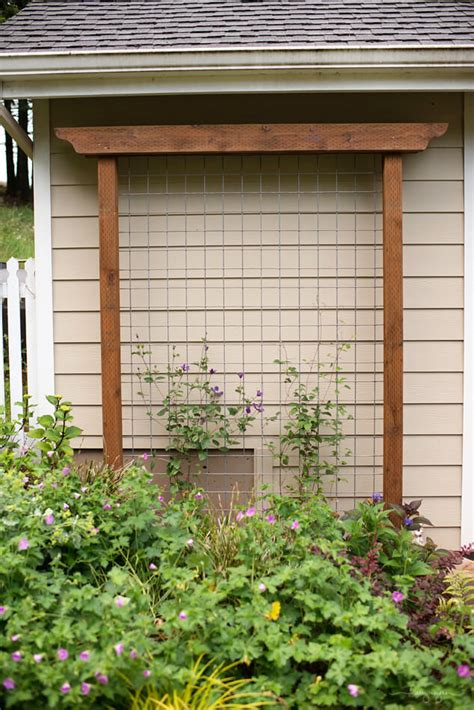 Diy Arbor Trellis by 24 Best Diy Garden Trellis Projects Ideas And Designs