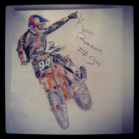 how to draw a motocross dirt bike drawing www imgkid com the image kid has it