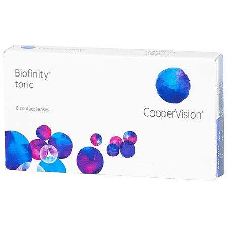 biofinity toric contact lenses by coopervision walmart