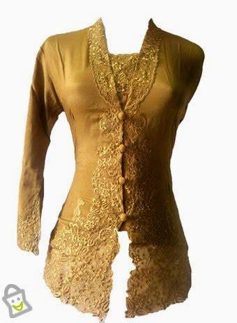 Kebaya Atasan Soimah Gold Emas Model Kebaya 2015 Desain Modern Tren Fashion Terbaru