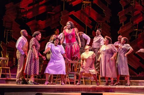 the color purple musical reviews bww review the color purple at paper mill playhouse is a