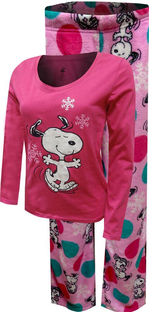 Piyama Snoopy White peanuts snoopy pajamas lounge sleep shorts
