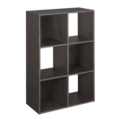 Closetmaid Laminate Storage Shop Closetmaid 6 Espresso Laminate Storage Cubes At Lowes