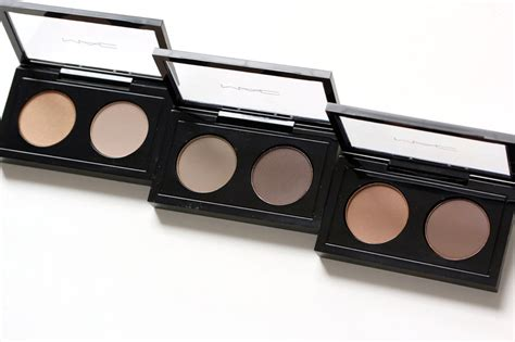 Mac Eyebrow Palette mac s brow duos in and makeup