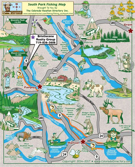 fly fishing colorado map my south park fishing map colorado vacation directory