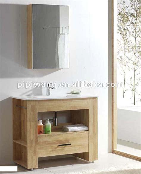 moderne 90 cm teak massivholz badm 246 bel kabinett des - Badezimmerkabinett Mit Eitelkeit