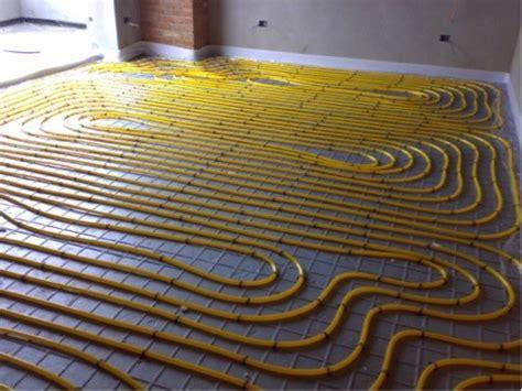 pavimento umido impianto radiante a umido e a secco le differenze