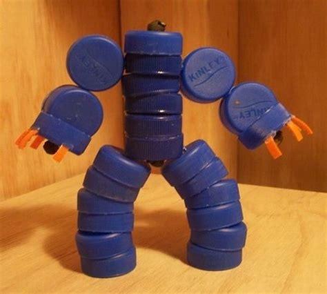 Harga Cara Gurah Telinga Sendiri by Kreasi Unik Mainan Anak Robot Robotan Dari Tutup Botol