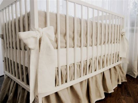 Burlap Crib Bedding by 25 Best Burlap Nursery Ideas On Cing Le