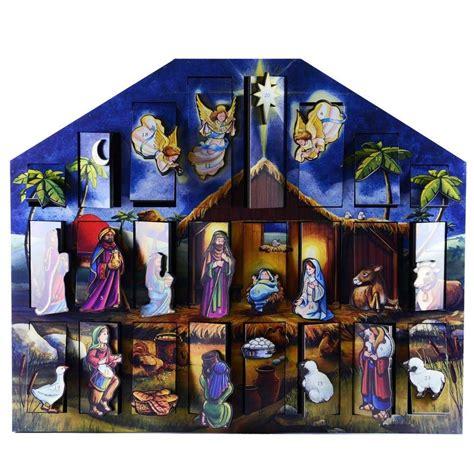 Nativity Advent Calendar Nativity Box Advent Calendar The Paraclete Catholic