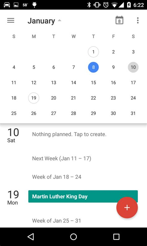 android studio calendar tutorial calendar view android studio