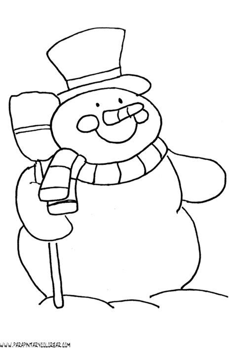 imagenes de invierno infantiles para colorear dibujos de invierno para colorear 004