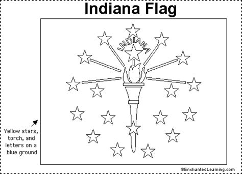 indiana state map coloring page indiana state map outline sketch coloring page