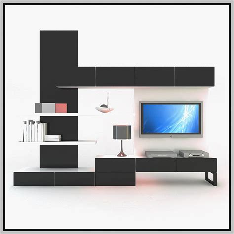 lovely House Hall Showcase Design Images #1: Best-LCD-TV-Showcase-Designs-for-Hall-2016-0006.png