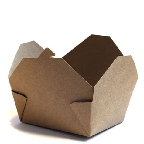 Brown Cardboard Food Box No 8   R R Packaging