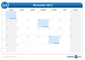 what is thanksgiving 2015 november 2015 calendar