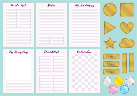 Wo Wedding Organizer by Wedding Organizer Vectors Free Vector