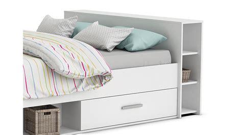 Betten Mit Schubladen 140x200 by Bett Pocket Einzelbett In Perle Wei 223 Dekor 140x200 Cm