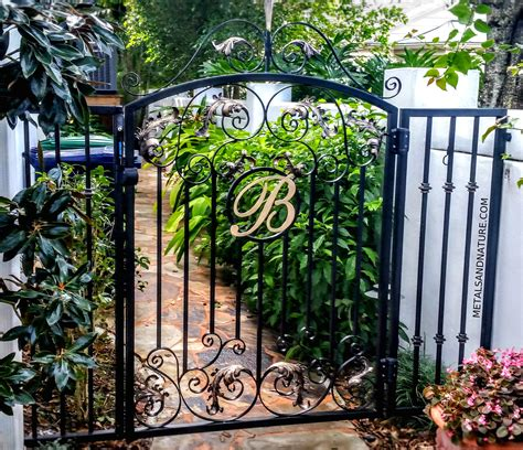 garden iron handmade iron garden gates ta fl metals nature
