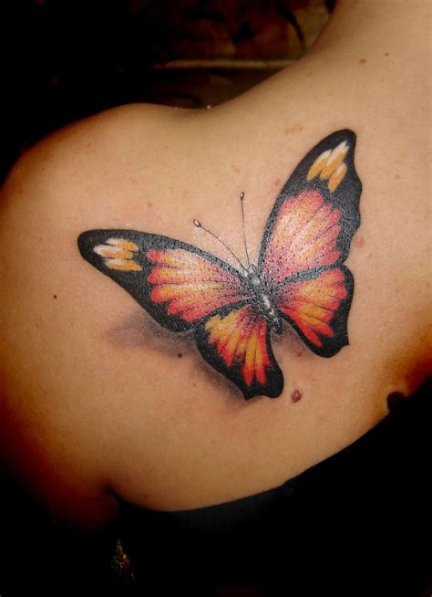 3d tattoo on the back 3d tattoos and designs page 35