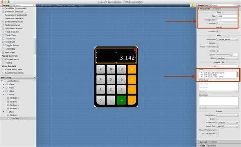 calculator javafx how to create a javafx gui using scene builder in netbeans