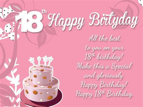 18 Birthday Cards 18th Birthday Wishes Messages And Greeting Cards 9