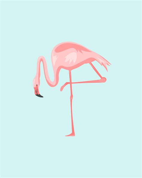 printable art posters freebies pretty in pink flamingos oh so lovely blog