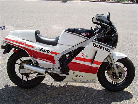 Suzuki Rg500 Gamma 30 1986 Suzuki Rg500 Gamma Bike Urious