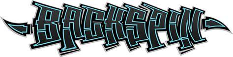 graffiti fonts backspin