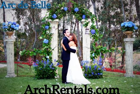 Wedding Arch Rental Near Me by Unique Wedding Arch Altar And Column Rentals In Los