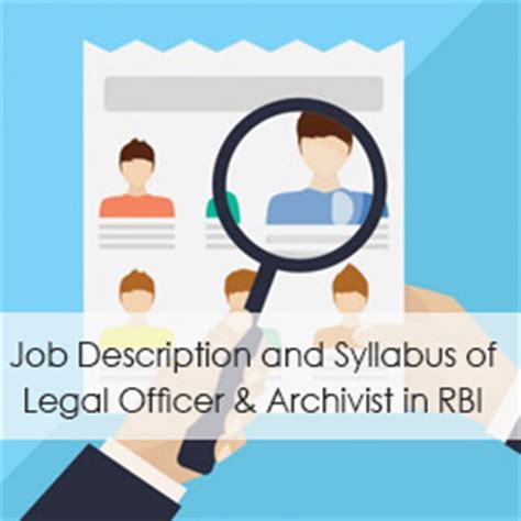 Rbi Careers For Mba by Description And Syllabus Of Officer Assistant