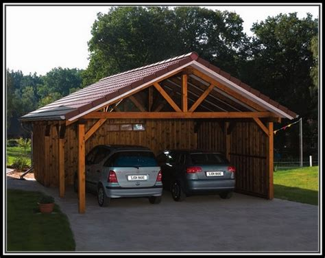 Wooden Car Ports by Carports Wooden Kits Innovation Pixelmari