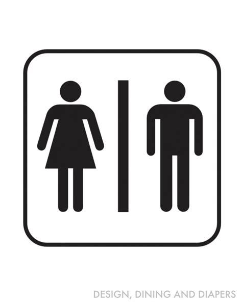 bathroom signs printable free free bathroom printables taryn whiteaker