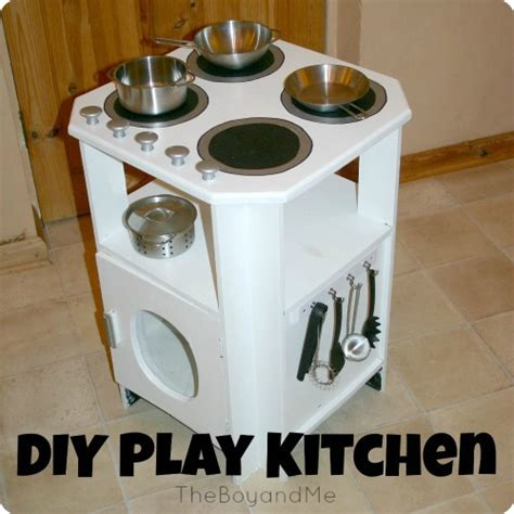 How To Make A Play Kitchen by How To Make A Play Kitchen Theboyandme