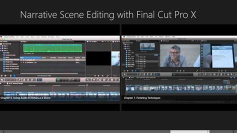 final cut pro history narrative scene editing with final cut pro x windows