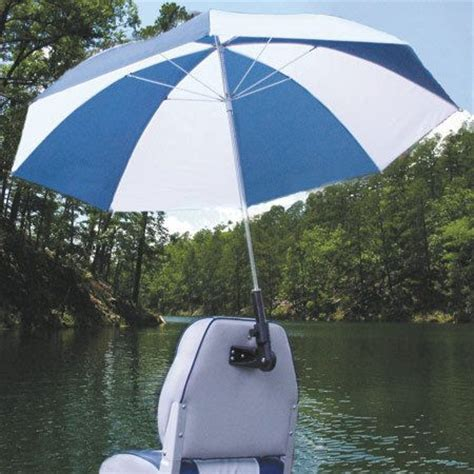 boat pedestal umbrella holder overton s real shade boat seat umbrella with bracket