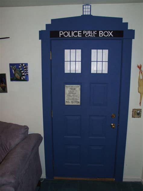 doctor who bedroom door epic home made doctor who tardis doorway youbentmywookie