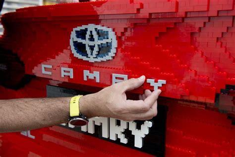 lego toyota camry size lego toyota camry revealed practical motoring