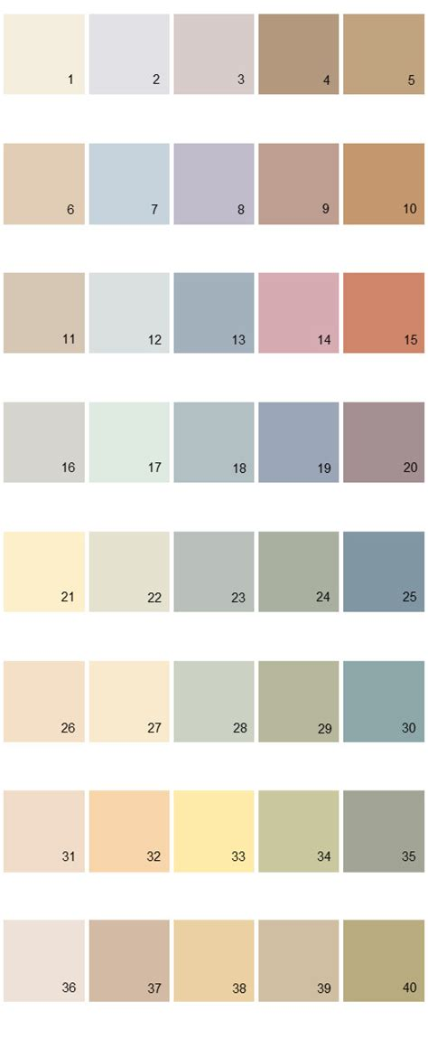 behr paint colors palette 17 house paint colors