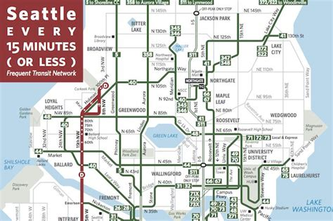 seattle map transportation seattle transit map things to do in seattle my new